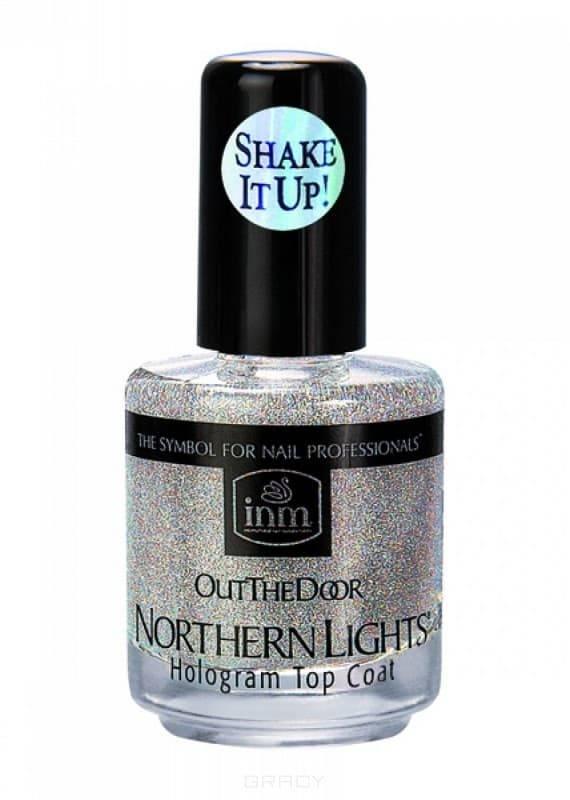 INM Голографическая сушка-закрепитель лака серебро Northen Lights Silver