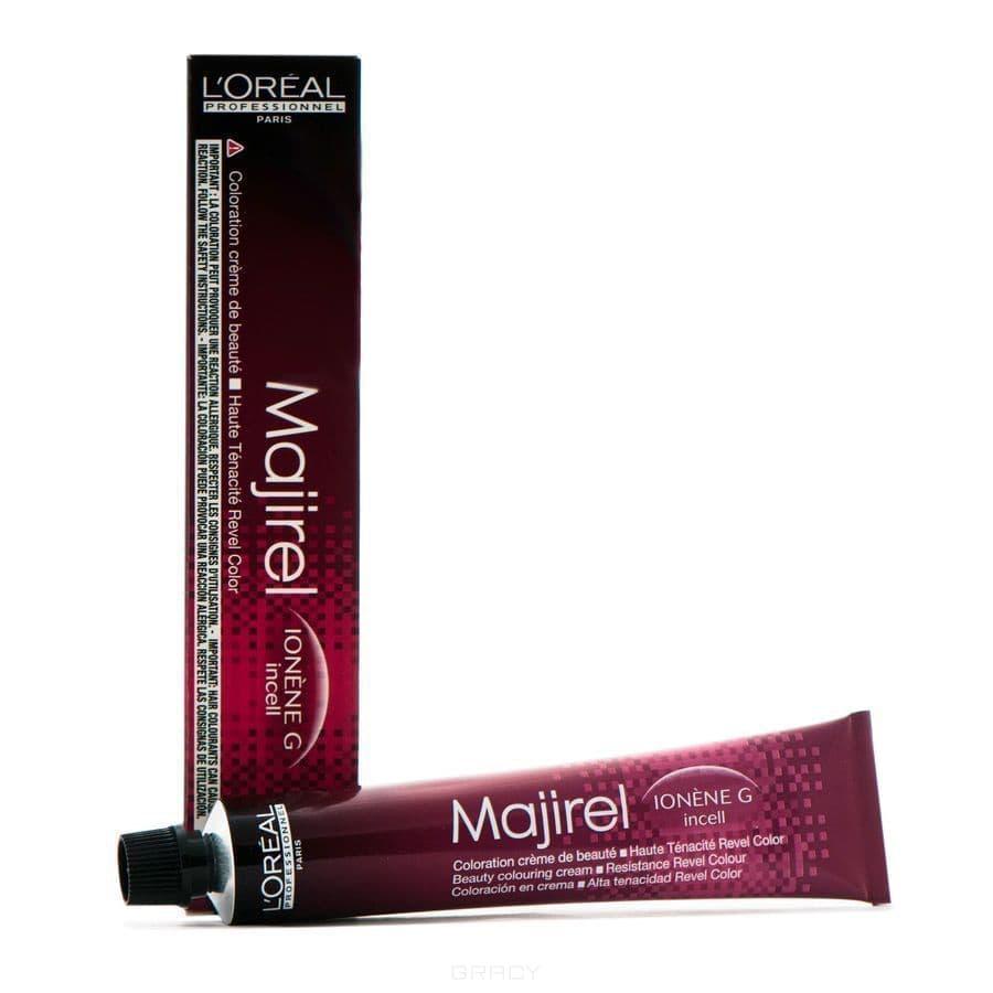 LOreal Professionnel, Крем-краска Мажирель Majirel, 50 мл (88 оттенков) 6.23 Ионен G и incell темный блондин перламутрово-золотистый