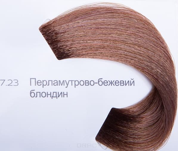 LOreal Professionnel, Краска для волос Dia Light, 50 мл (34 оттенка) 7.23 перламутрово-бежевый блондин
