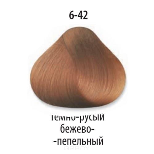 Constant Delight, Стойкая крем-краска для волос Delight Trionfo (63 оттенка), 60 мл 6-42 Темный русый бежевый пепельный