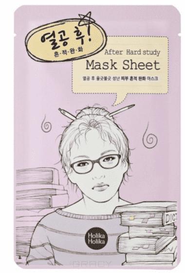Holika Holika, Маска тканевая для лица После учебы After Mask Sheet-After Hard Study, 16 мл
