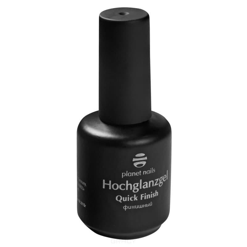 Planet Nails Гель Hochglanzgel финиш без липкости с высоким глянцем, 15 г гель лаки planet nails гель краска без липкого слоя planet nails paint gel неоново желтая 5г