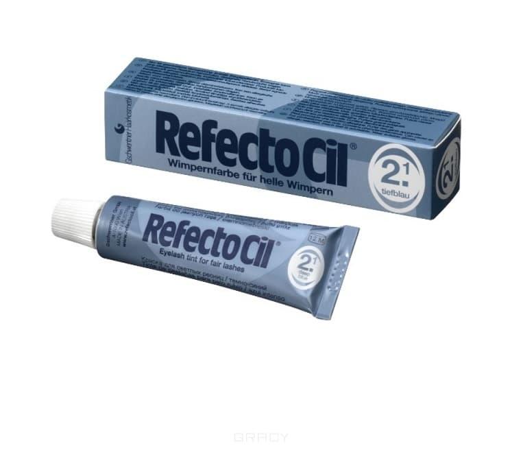 RefectoCil, Краска для бровей и ресниц, 15 мл (10 цветов) №2.1 Темно-синий