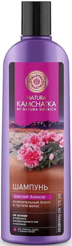 Natura Siberica Шампунь Царский Эликсир ослепительный блеск и густота волос Kamchatka, 280 мл
