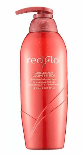 Купить Flor de Man - Увлажняющая эссенция-глазурь для укладки волос с камелией Редфло Redflo Camellia Hair glazing essence, 500 мл