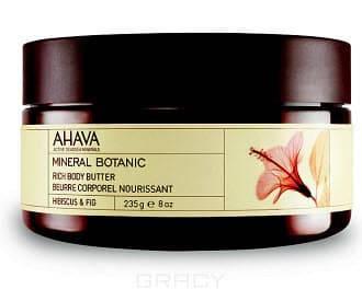 Фото Ahava Насыщенное масло для тела Гибискус и фига Mineral Botanic, 235 г
