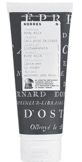 Korres Молочко для тела Жасмин, 200 мл, Молочко для тела Жасмин, 200 мл, 200 мл молочко для тела 200 мл клубника