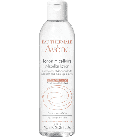 Avene Мицеллярный лосьон для очищения кожи и удаления макияжа, 400 мл лосьон для лица avene для сверхчувствительной кожи 200 мл очищающий