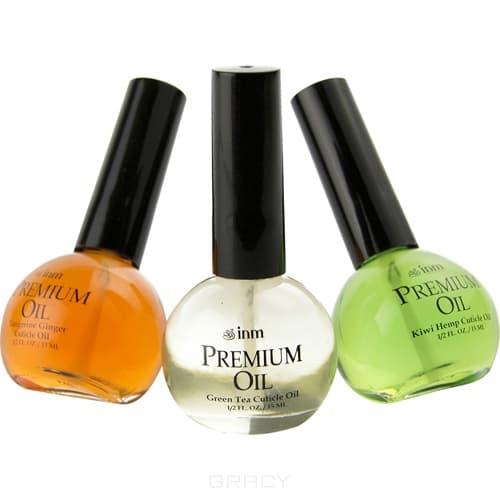 INM Масло для кутикулы с ароматом мандарина и имбиря Premium Tangerine Cuticle Oil, 15 мл