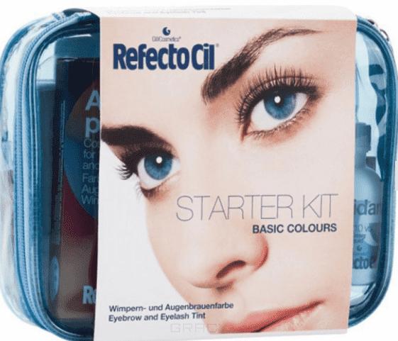 RefectoCil Стартовый набор Basic Colours refectocil салфетки под ресницы extra непромокаемые покрытые пленкой 80 шт