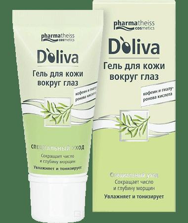 Doliva Гель для кожи вокруг глаз, 15 мл, Гель для кожи вокруг глаз, 15 мл, 15 мл doliva гель для душа с витаминами 200 мл