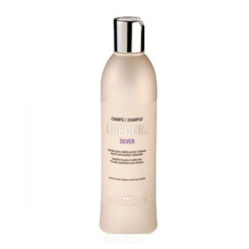 Hipertin, Шампунь для седых и светлых волос Linecure Silver Shampoo, 300 мл