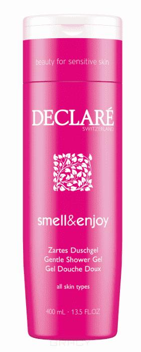 Declare Деликатный гель для душа «Аромат и наслаждение» Smell & Enjoy Gentle Shower Gel, 400 мл declare лосьон деликатный для тела аромат и наслаждение smell