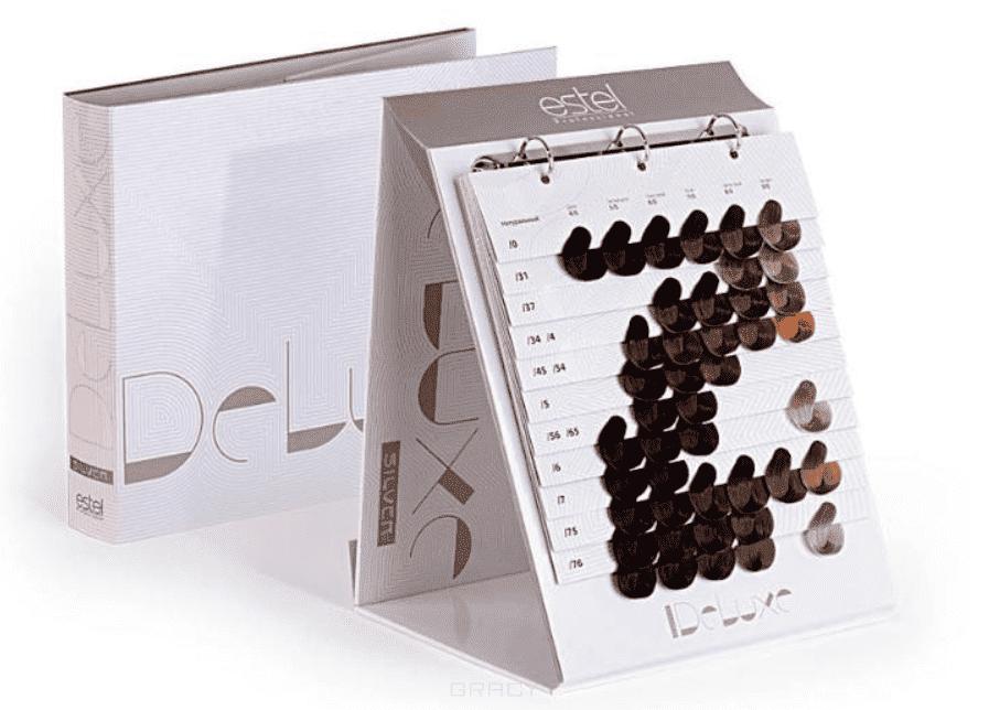 Купить со скидкой Estel - Карта оттенков (палитра) De Luxe Silver, 43 тона