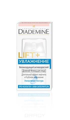 Diademine Дневной флюид Lift + Увлажнение, 50 мл, Дневной флюид Lift + Увлажнение, 50 мл, 50 мл флюиды markell natural био флюид дневной aquasource 50 мл