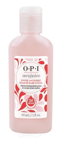 OPI Лосьон для рук Пион/Мак Avojuice, 600 мл opi лосьон для рук и тела opi avojuice skin quenchers spiced persimmon hand