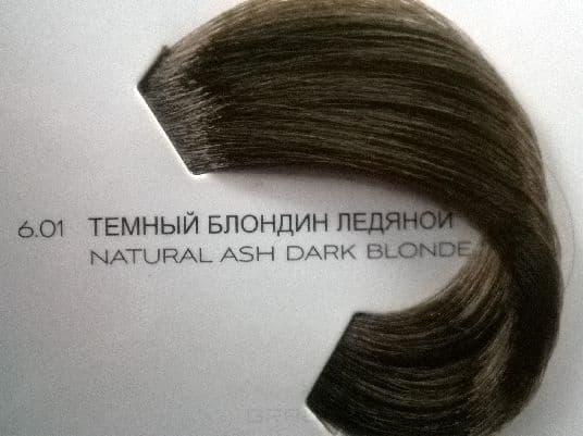 LOreal Professionnel, Краска для волос Dia Richesse, 50 мл (48 оттенков) 6.01 тёмный блондин ледяной