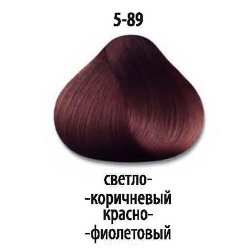 Constant Delight, Стойкая крем-краска для волос Delight Trionfo (63 оттенка), 60 мл 5-89 Светлый коричневый красный фиолетовый