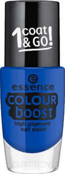 Essence Лак для ногтей Colour Boost High Pigment Nail Paint, 9 мл, Лак для ногтей Colour Boost High Pigment Nail Paint, 9 мл, т.11 Синий, 9 мл дизайн ногтей essence накладные ногти french click