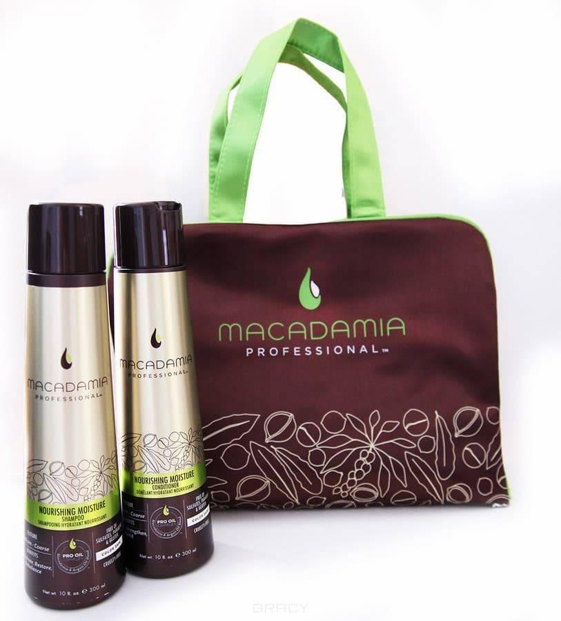 Macadamia Natural Oil , Набор Питание и увлажнение Nourished tresses, 300/300 мл