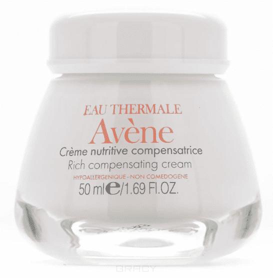 Avene Питательный компенсирующий крем, 50 мл, Питательный компенсирующий крем, 50 мл, 50 мл lierac лиерак деридиум крем питательный для сухой и очень сухой кожи банка 50 мл