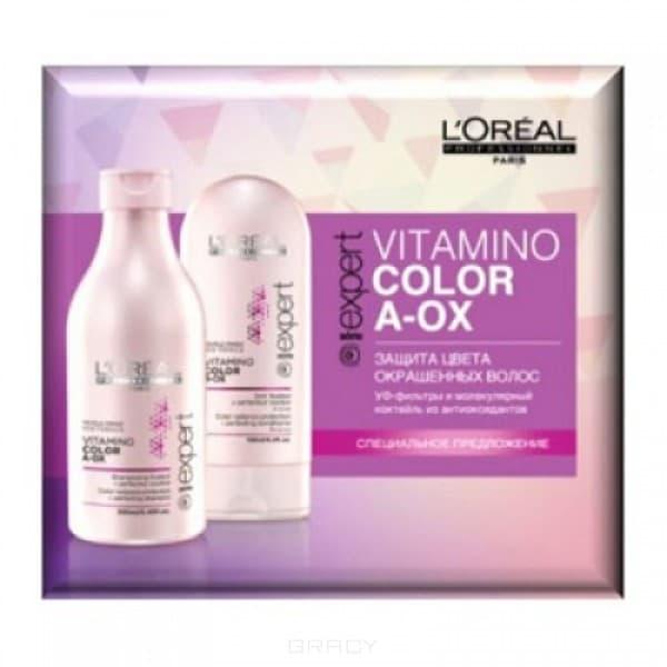 L'Oreal Professionnel Набор для окрашенных волос Vitamino Color, 250 + 150 мл. бальзам l oreal professionnel solar sublime balsam 250 мл