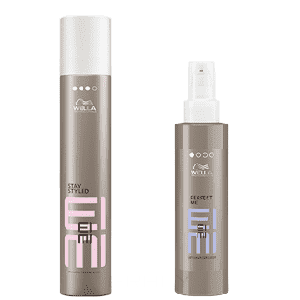 Wella Набор Лак Stay Styled 300 мл + BB-лосьон Perfect Me 100 мл, Набор Лак Stay Styled 300 мл + BB-лосьон Perfect Me 100 мл, 300/100 мл wella лак для волос сильной фиксации stay styled 500 мл