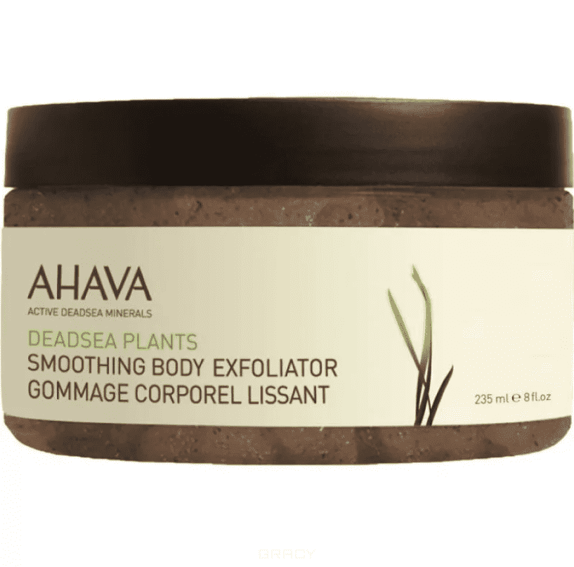 Ahava Разглаживающий скраб для тела Deadsea Plants, 235 мл ahava deadsea water body trio набор deadsea water body trio набор