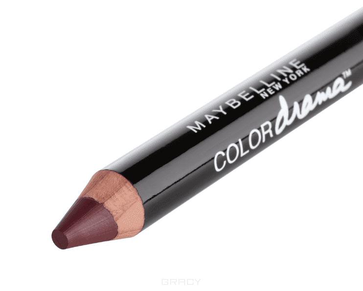 Maybelline, Помада-карандаш для губ Color Drama, 6 г (7 оттенков) 110 Шикарный виноградный
