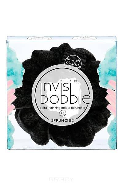 Фото Invisibobble Резинка для волос SPRUNCHIE True Black, черный