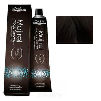 LOreal Professionnel, Краска для волос Majirel Cool Cover, 50 мл (33 оттенка) 6.11 тёмный блондин глубокий пепельный