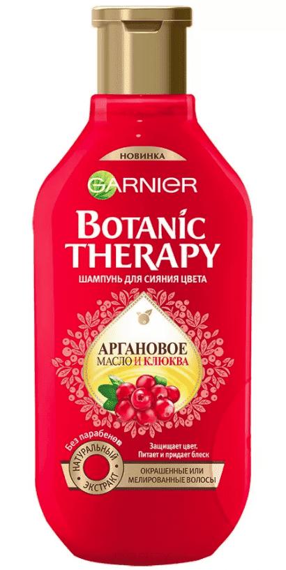 Фото Garnier Шампунь для волос Клюква Botanic Therapy, 400 мл