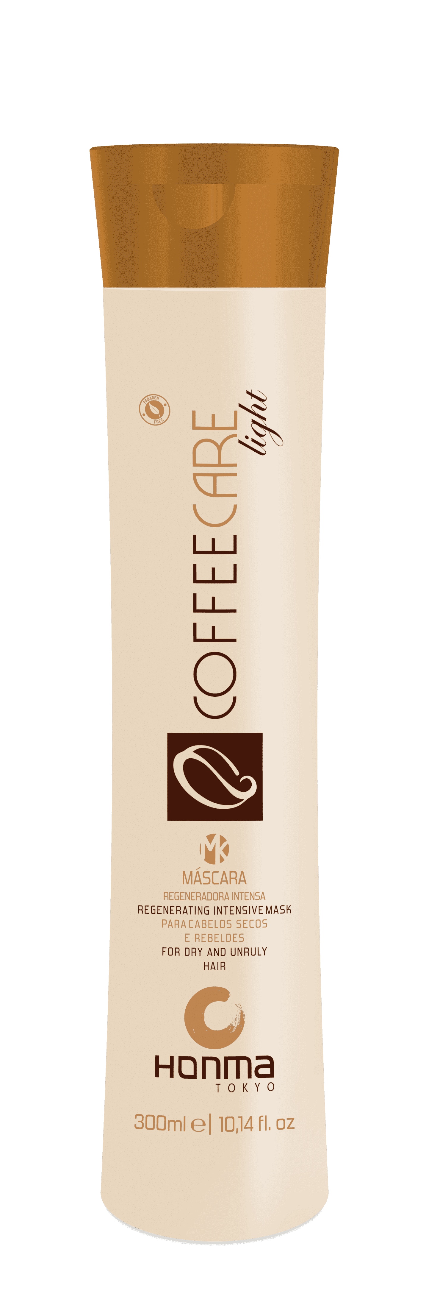 Honma Tokyo Coffee Care Light Восстанавливающая интенсивная маска питание и укрепление, 300 мл honma tokyo кератин шаг 2 линии coffee premium all liss шаг 2 линии coffee premium all liss 500 мл