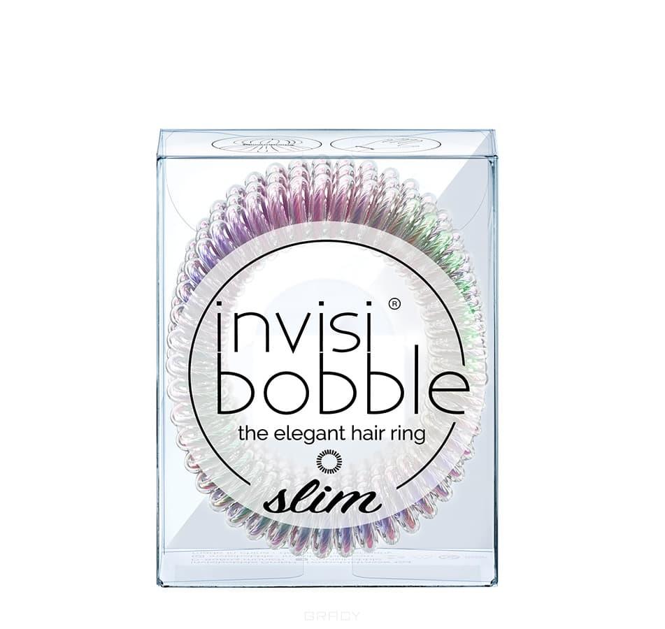 Invisibobble Резинка-браслет для волос SLIM Vanity Fairy, 3 шт/уп invisibobble резинка для волос дымчатая original foggy nights 3 шт резинка для волос дымчатая original foggy nights 3 шт 3 шт уп