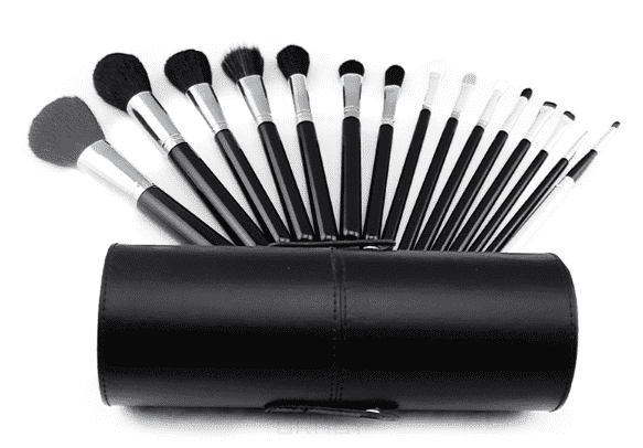 Sibel Набор кистей для макияжа, 15 шт, Набор кистей для макияжа, 15 шт, 1 набор набор кистей для макияжа дешево в интернет магазине