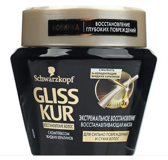 Schwarzkopf Professional Маска для волос Экстремальное восстановление, 300 мл kocostar маска восстанавливающая для поврежденных волос конский хвост ggong ji hair pack 8 мл