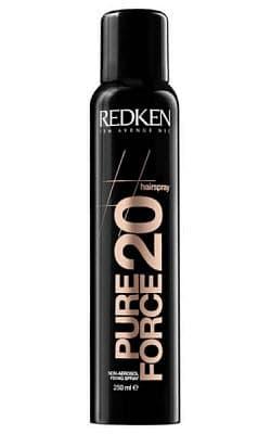 Redken Неаэрозольный спрей сильной фиксации Hairsprays Pure Force 20, 250 мл redken forceful 23 спрей супер сильной фиксации для завершения укладки волос 400 мл