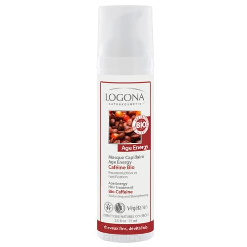 Logona Сыворотка для волос Age Energy, 75 мл logona age energy conditioner bio coffein кондиционер для волос с био кофеином 200 мл