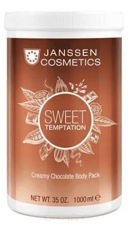 Janssen Корректирующее кремовое обертывание Шоколад, 1 кг