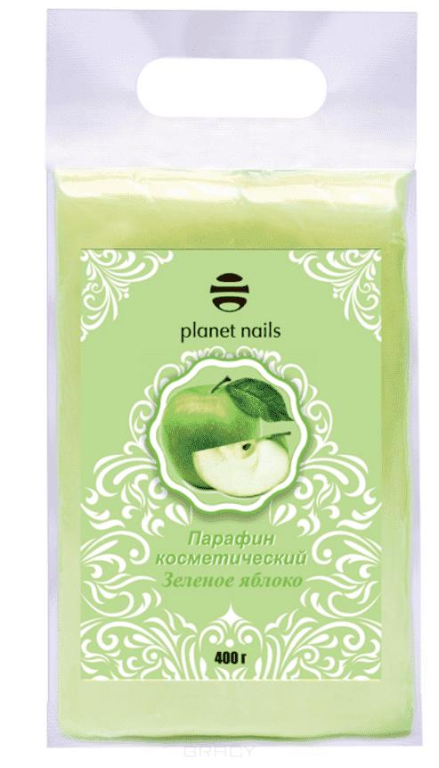 "Planet Nails Парафин косметический ""Зеленое яблоко"", 400 гр, Парафин косметический ""Зеленое яблоко"", 400 гр, 400 гр"