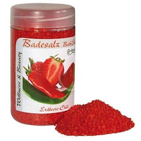 Camillen 60 Соль для ножных ванн «Клубника и Чили», 350 гр