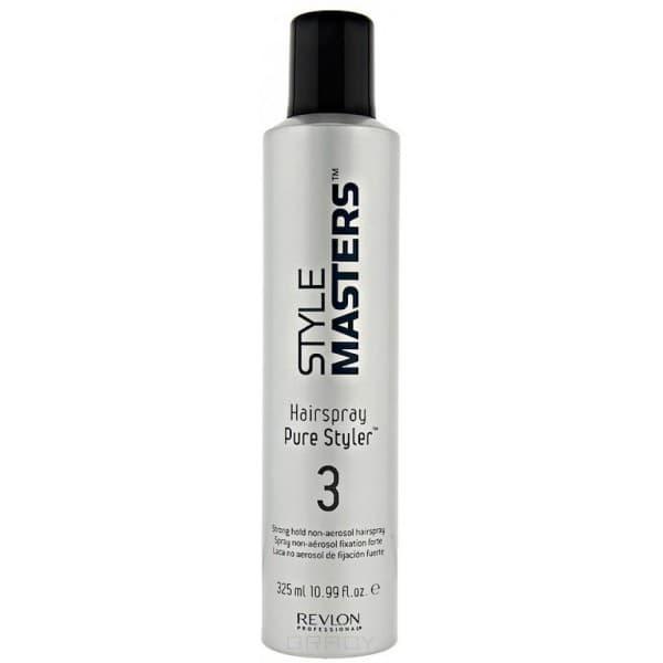 Revlon Лак для волос неаэрозольный сильной фиксации  Hairspray Pure Styler, 325 мл, Лак для волос неаэрозольный сильной фиксации  Hairspray Pure Styler, 325 мл, 325 мл revlon лак для волос сильной фиксации photo finisher hairspray лак для волос сильной фиксации photo finisher hairspray 500 мл