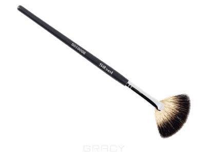 Sibel Кисть-зонтик для макияжа, енот, 23 см