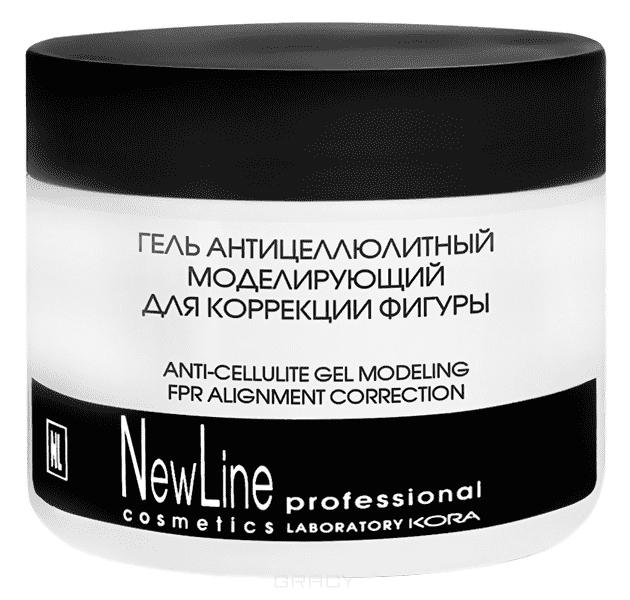 NewLine Гель антицеллюлитный для повышения упругости кожи с лимфодренажным эффектом, 300 мл