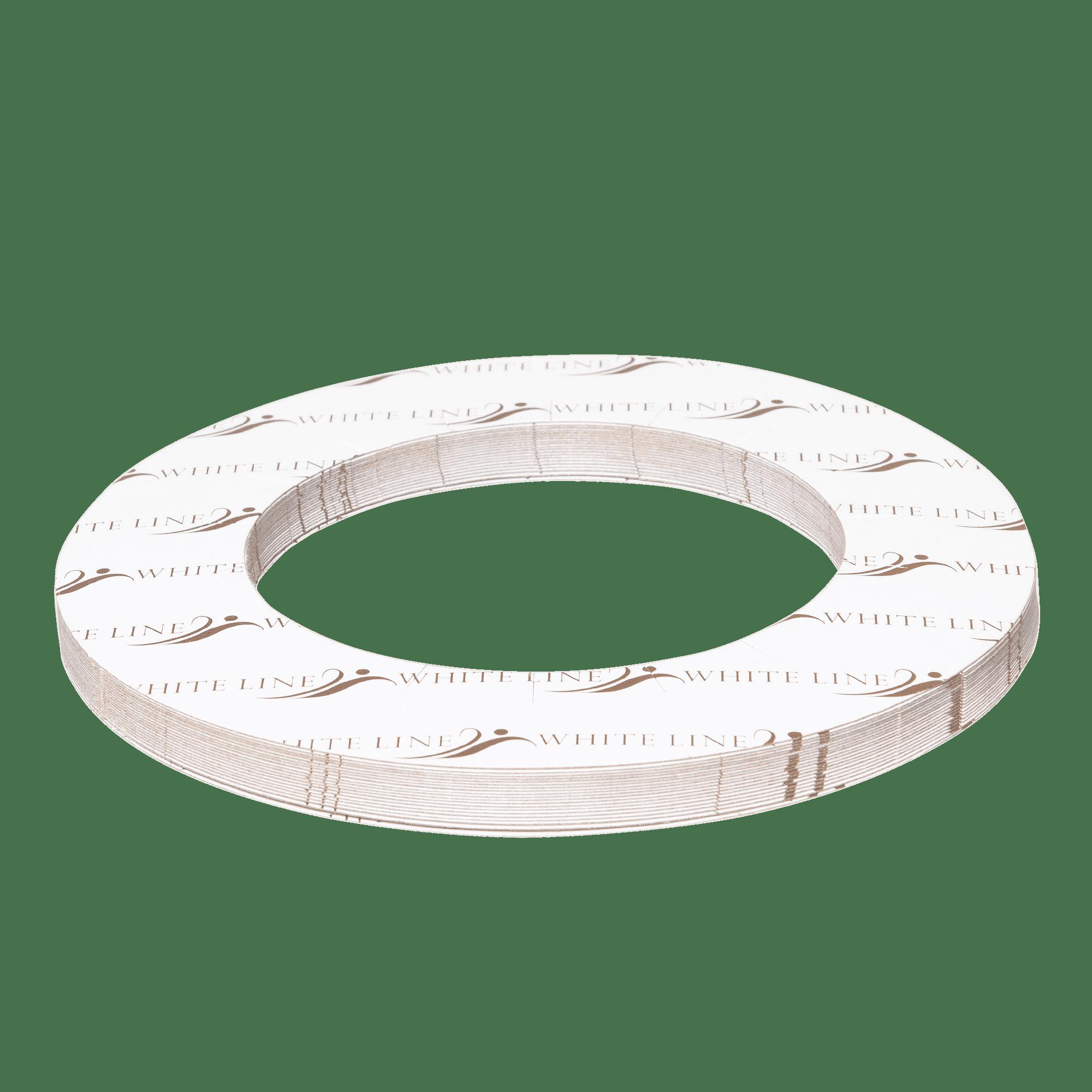Sweet Epil, Защитное бумажное кольцо для нагревателя White Line, 20 шт/уп