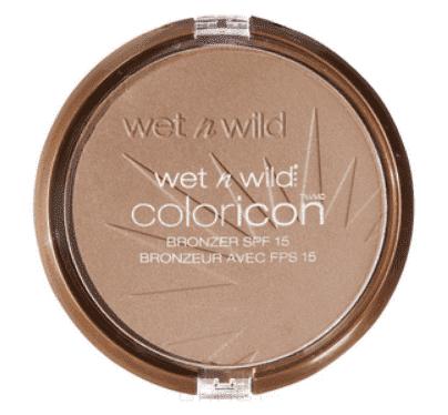 Wet n Wild Компактная пудра для лица бронзатор Color Icon Bronzer, (3 тона), 1 шт, E740 bikini contest бронзатор wet n wild color icon bronzer spf 15 e740 цвет e740 bikini contest variant hex name c09a8d