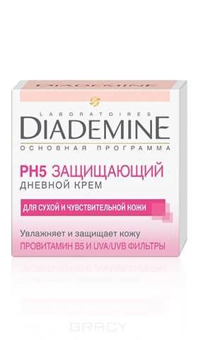 Diademine, Крем для лица дневной Основная Программа Защищающий и увлажняющий, 50 мл