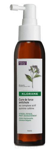 Klorane Концентрат укрепляющий от выпадения волос с комплексом Хинина и Кофеина, 125 мл