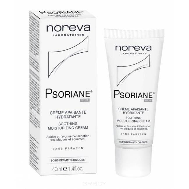 Noreva Успокаивающий увлажняющий крем Psoriane, 40 мл, Успокаивающий увлажняющий крем Psoriane, 40 мл, 40 мл недорого