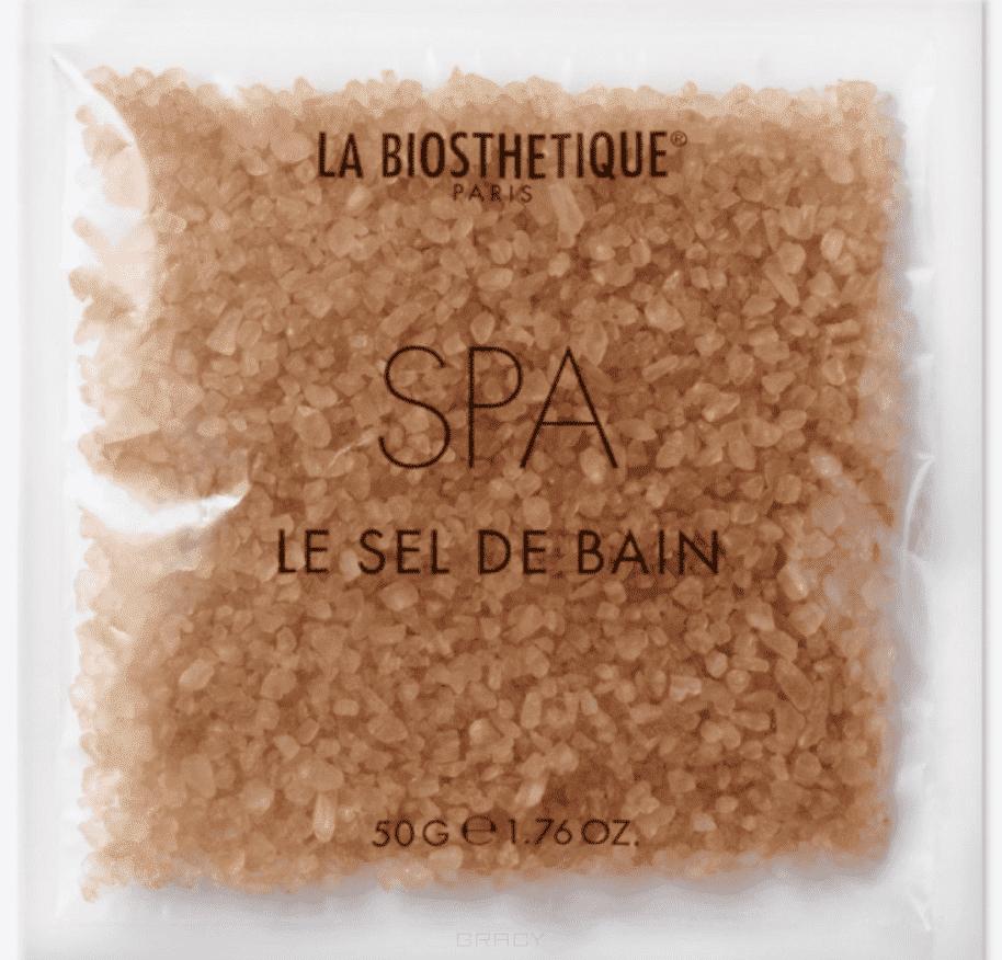 La Biosthetique Морская соль для расслабляющей велнес-ванны SPA Line Le Sel De Bain SPA, 50 г la biosthetique освежающий роликовый spa дезодорант spa line le deodorant spa 75 мл освежающий роликовый spa дезодорант spa line le deodorant spa 75 мл 75 мл